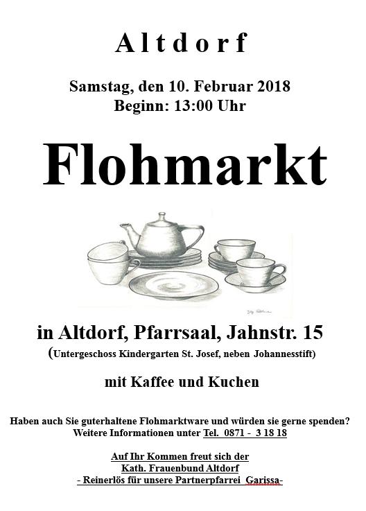 Flohmarkt Frauenbund