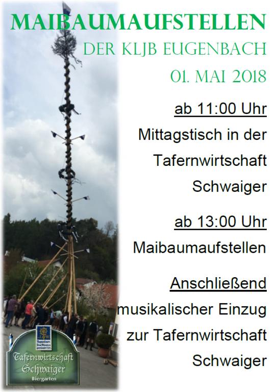 Maibaum Eugenbach 2018
