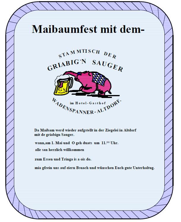Maibaum 2018