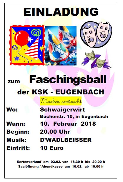 KSK Fasching 2018