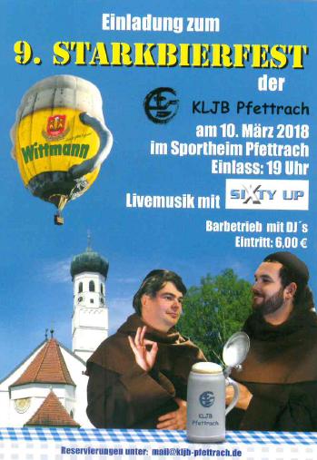 Starkbierfest Pfettrach 2018