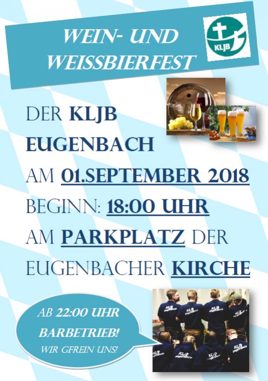Weinfest KLJB Eugenbach 2018