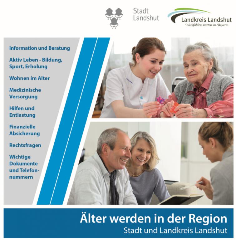 Broschüre Älter werden in der Region