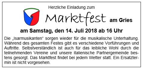 Marktfest 2018