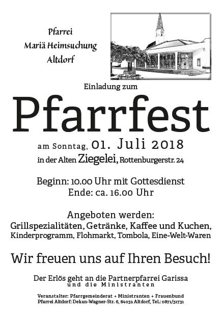 Pfarrfest 2018