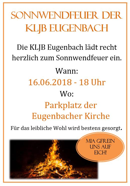 Sonnwendfeuer Eugenbach