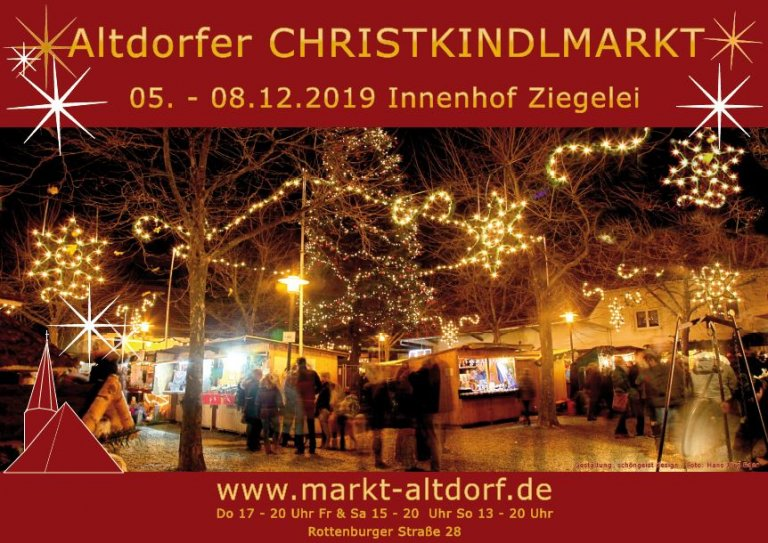 Christkindlmarkt 2019 Flyer